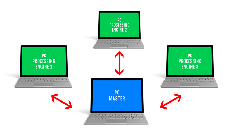 Parallel processing 1 with MatDeck